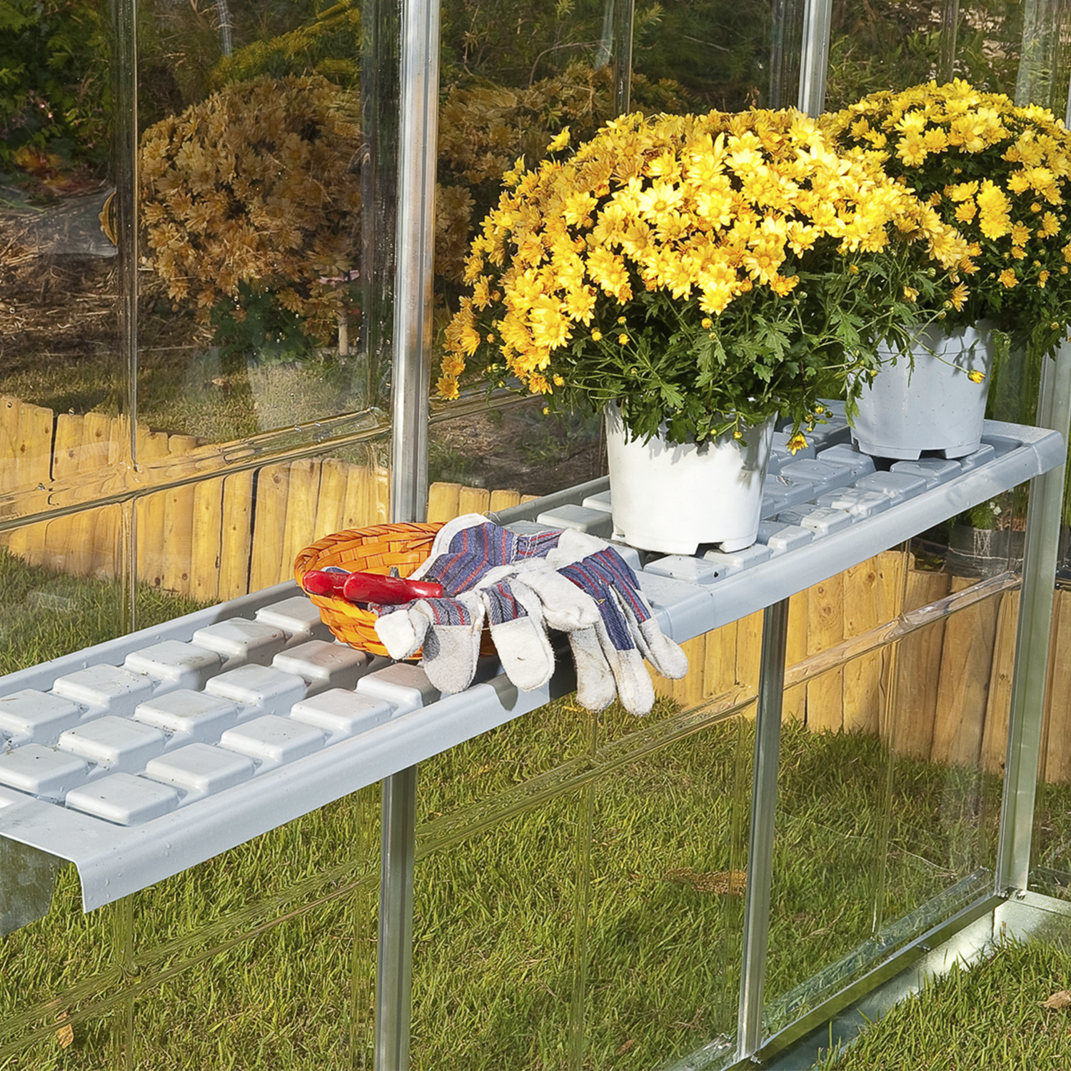 Upper Shelf Kit for the Palram Greenhouses